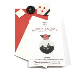 Button Doodle Xmas Card Kits