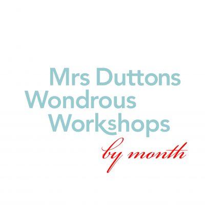 Workshops Monthly Calendar