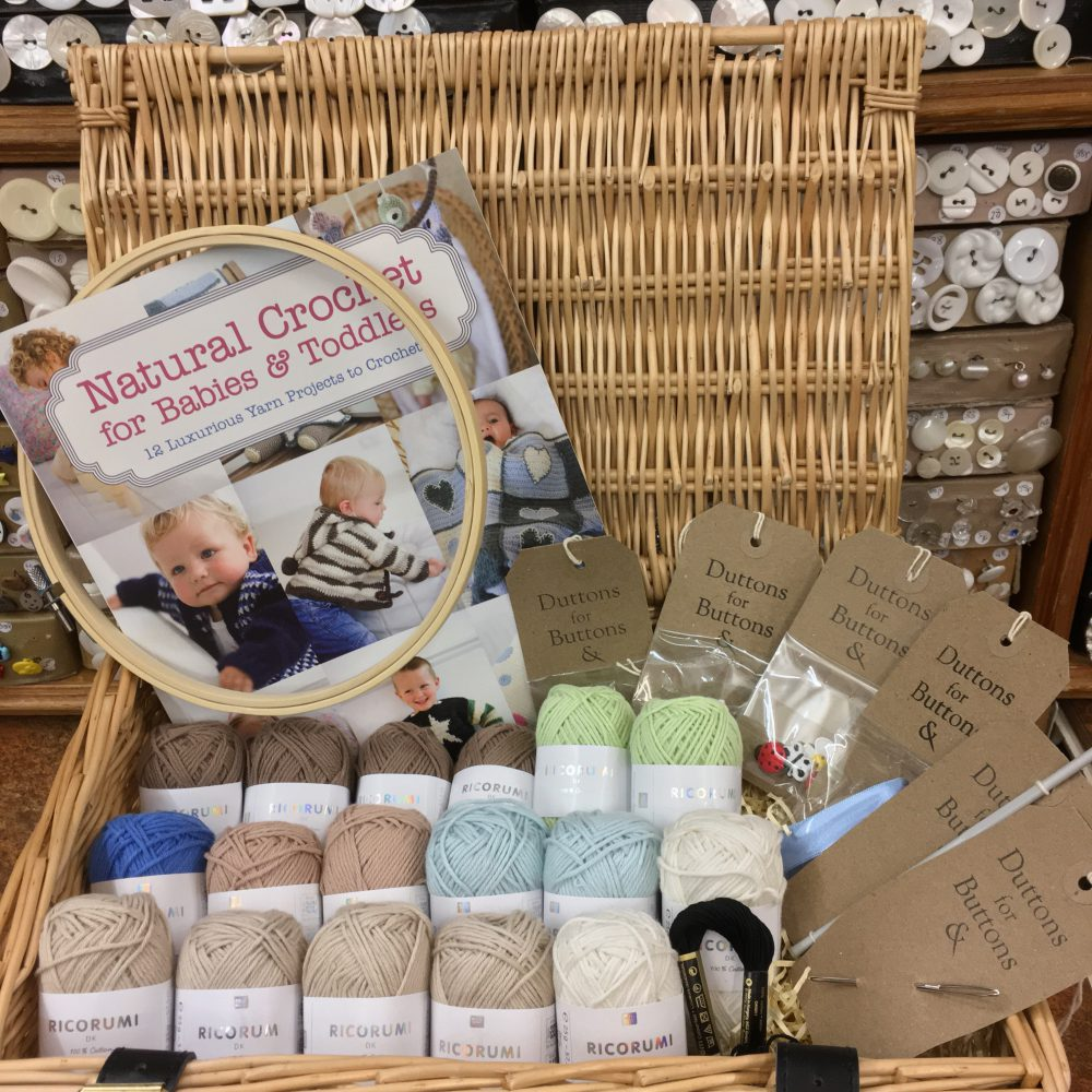 Crochet for Tinies & Tots Hamper_©DuttonsforButtons