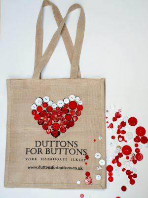 Duttons for Buttons Xmas Bag copy