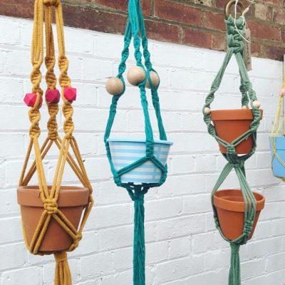 Kim Searle_Macramé Plant Hangers