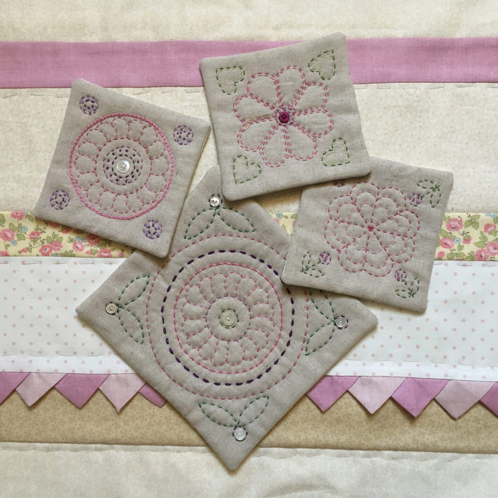 North Country Quilts_ShellsandWildflowers_Helen Barnes