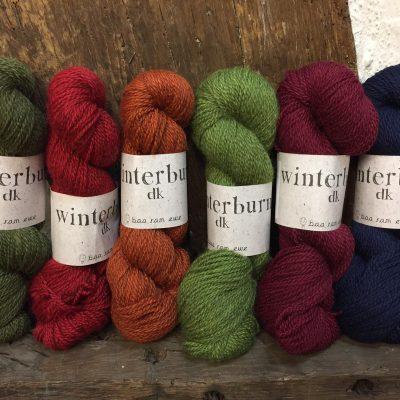 Winterburn range of wool from Baa Ram Ewe